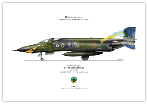 RF-4 PHANTOM II  profile - miliprint