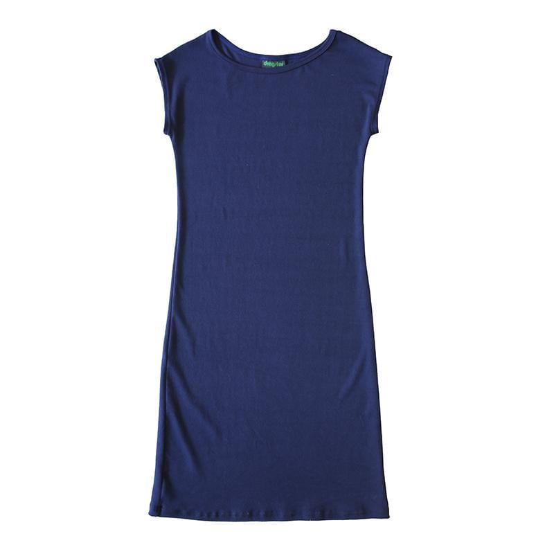 Dragstar Navy Effortless Dress -Ethical womens fashion made in Sydney