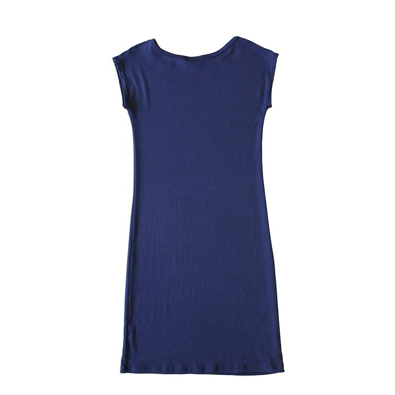 Dragstar Navy Effortless soft jersey Dress Ethical womens fashion made in Sydney