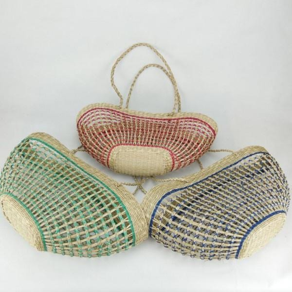 Seagrass Net Bag - Blue