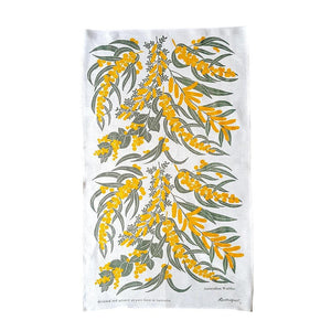 Australian Made Tea Towel - Wattle
