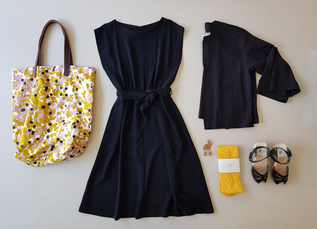 Dragstar Bateau Dress - Black