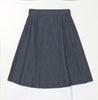 Double Wrap Skirt -Dark Denim