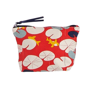 Water Lilly Make-up Pouch