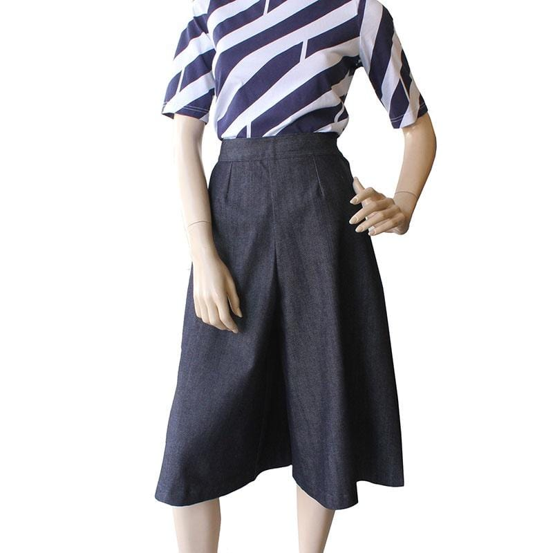 Dragstar Ethical womens fashion made in Sydney denim culottes