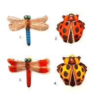 Japanese Vintage Bug Brooch - Assorted 2