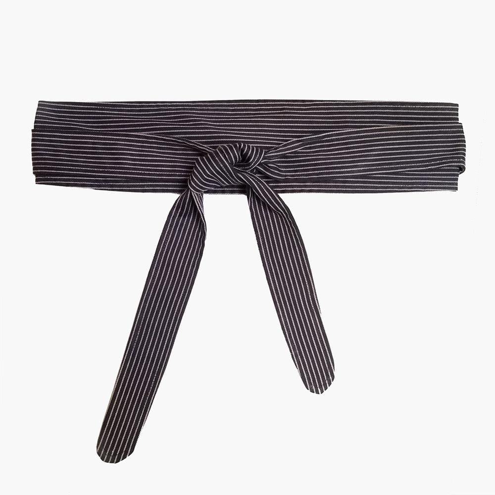 Dragstar Obu Belt - Navy & White Stripe
