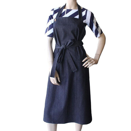 Denim Apron Dress Dragstar Ethical womens fashion made in Sydney