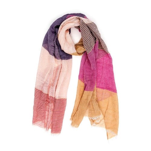 scarf yellow Dragstar ethical fashion