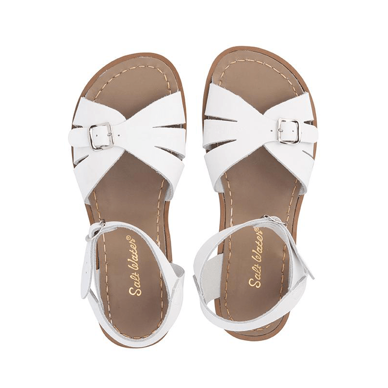 Salt Water Classic Sandals - White