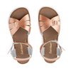 Salt Water Classic Sandal - Rose Gold