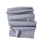 Weftshop Rayon Scarf - Grey/blue