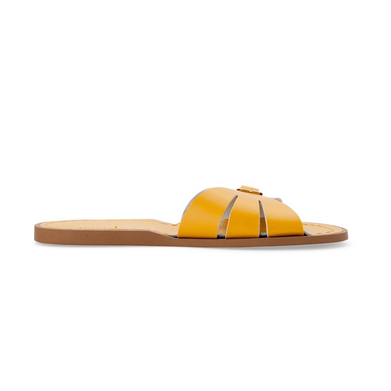Salt Water Classic Slides - Mustard