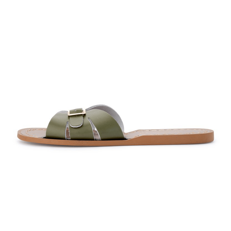 Salt Water Classic Slides - Olive