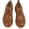 Tan Brando Brogue shoe