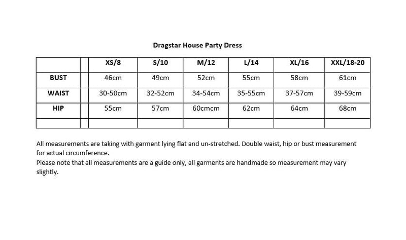 Dragstar House Party Dress - black tencel