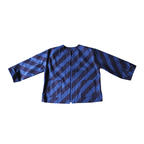 Dragstar Boxy Jacket - Diagonal Print