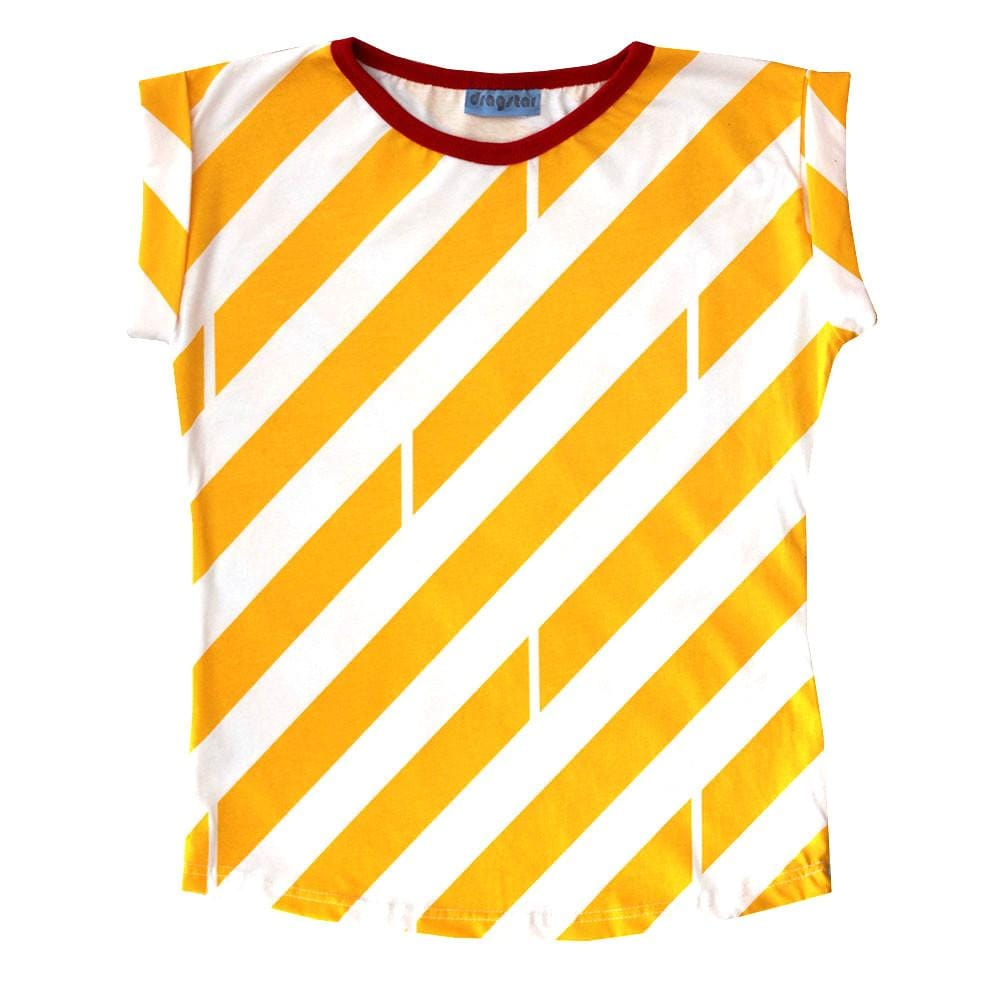 Striped Tee - Yellow