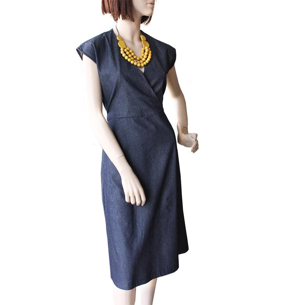 The Happy Dress - Denim Dragstar Ethical womens fashion made in Sydney
