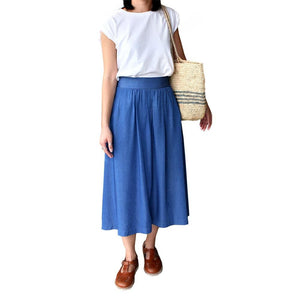 Dragstar Miranda Middie Skirt in Rayon Ethical Womens Fashion made in Sydney Australia Newtown