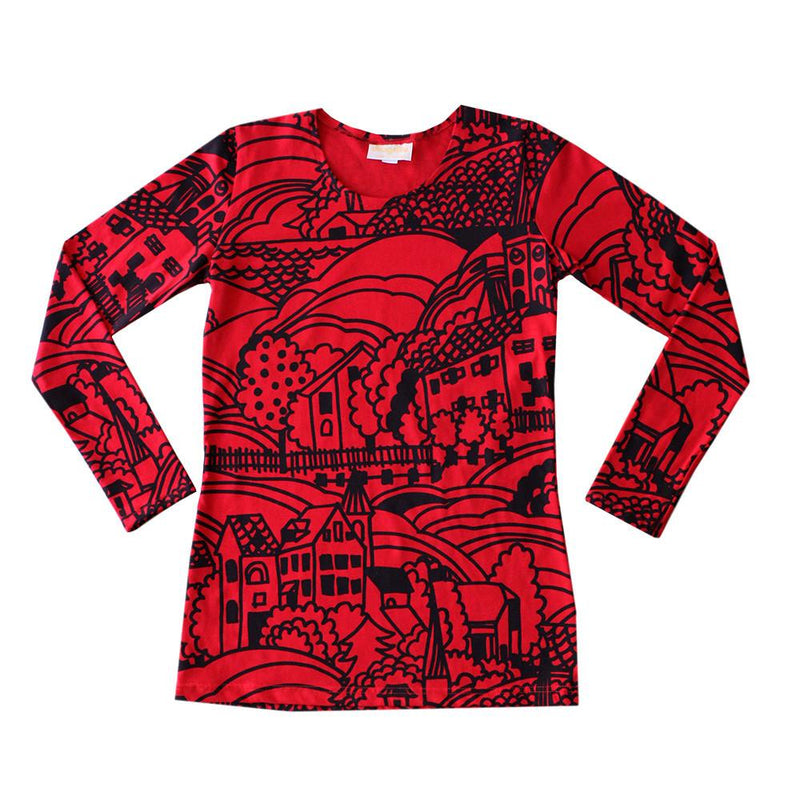Village Long Sleeve Tee lucky last size