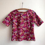 Cute As a Button - Bubbling Magenta Floral