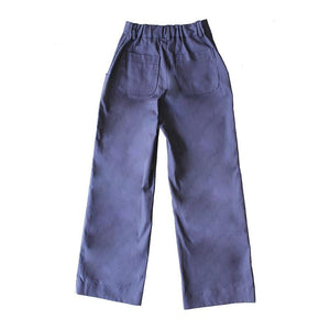 Dragstar Parade Pants - Cotton Navy Drill Ethical Womens Fashion Made in Sydney Australia Slow Fashion