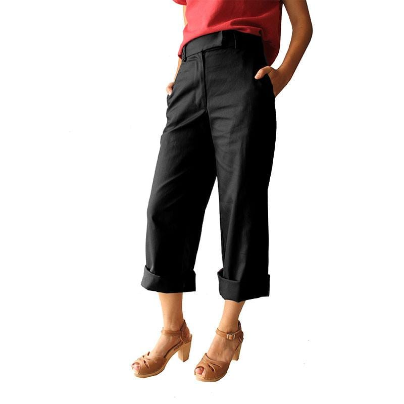 Parade Pants - Black Wide leg pants made in AUSTRALIA