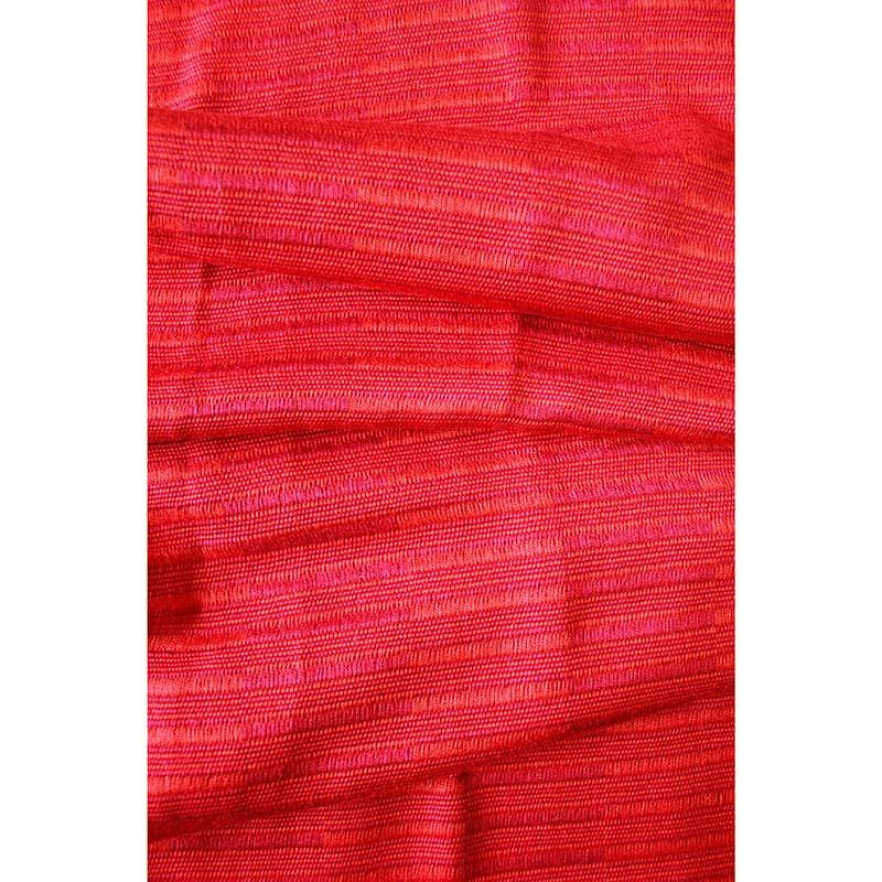 Weftshop Rayon Scarf - Red