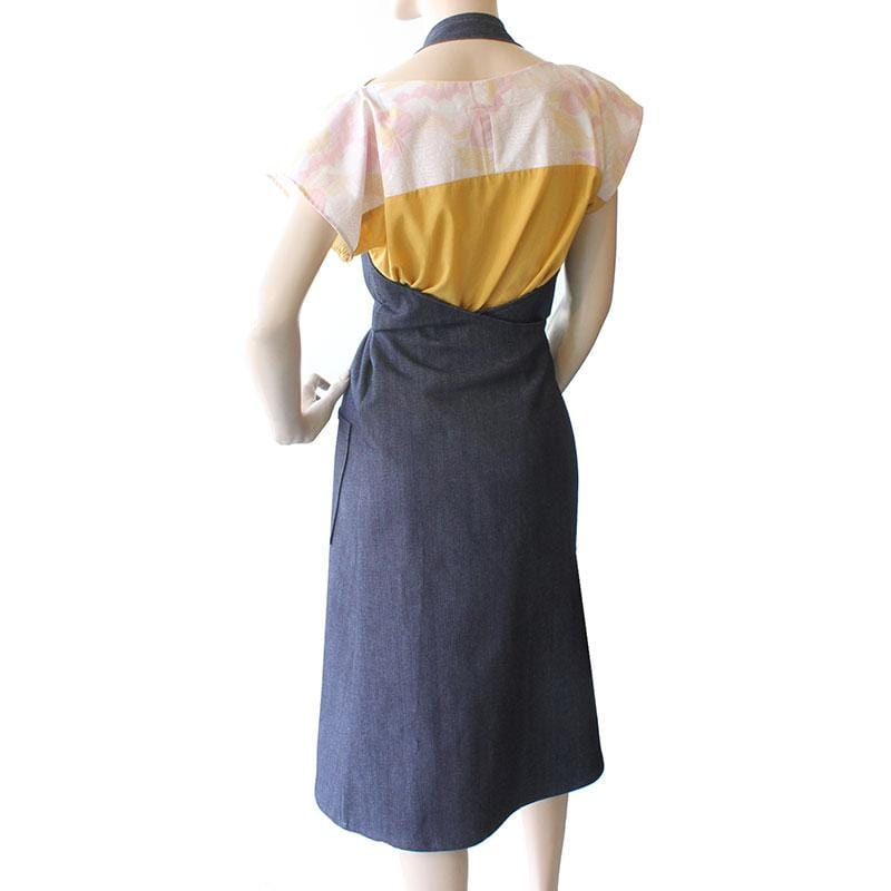 Denim Apron Dress