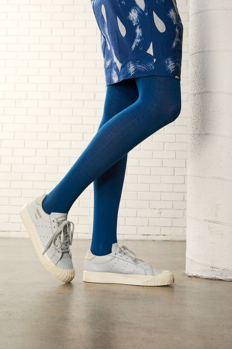 Tightology Trastevere Tights - Blue