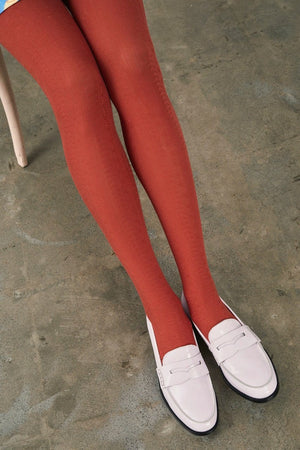 Tightology Trastevere Tights - Cinnamon