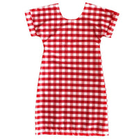 Reversible Dress - Drip Dry Check