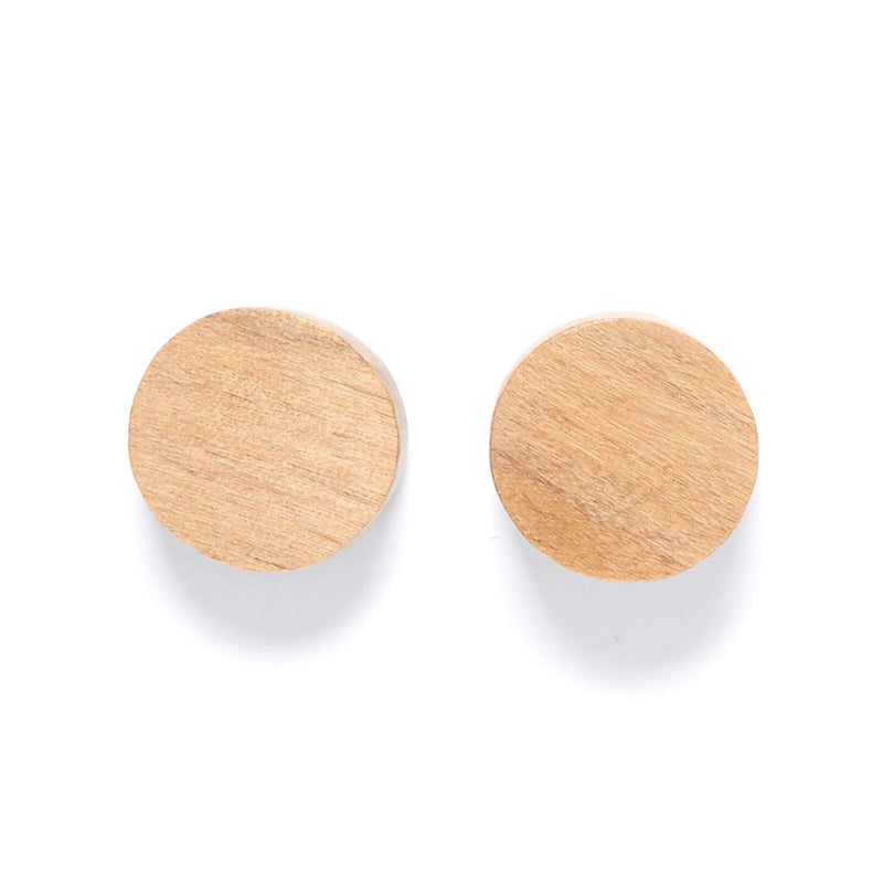 Handmade Rare rabbit timber earrings studs sustainable ethical fashion Dragstar