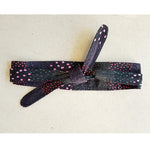 Dragstar Obi Belt - Japanese Dot Print Black