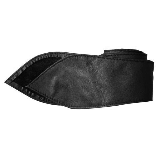 Leather Tie Belt - Black