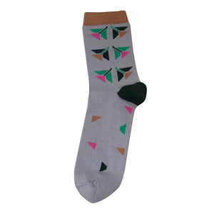 Tightology Blossom Socks - Grey