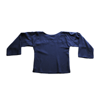 Dragstar Rothko Top - Navy Tencel