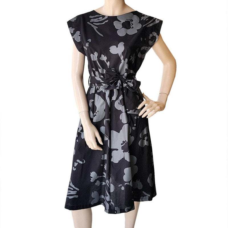 Last Sizes -Dragstar Bateau Dress - Botanical