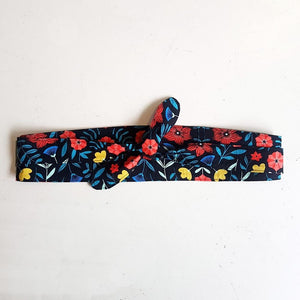 Dragstar Clothing ethically and sustainably made in Sydney Australia. Obi belt 100% cotton floral