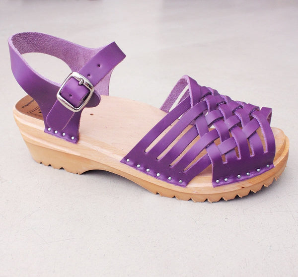 Troentorp Clogs 'Anna' - Purple