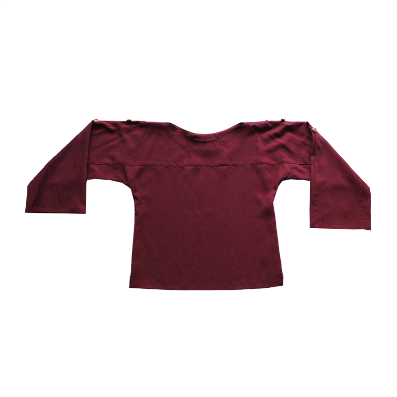 Dragstar Rothko Top - Burgundy Tencel
