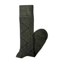 Tightology Degraves Knee High Socks - Olive