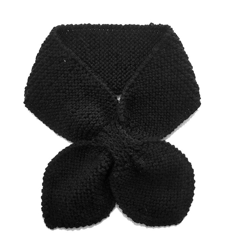 Hand Knitted Neck Warmer - Black