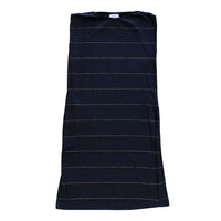 Ever So Easy Dress - Black with Gold Lurex Stripe