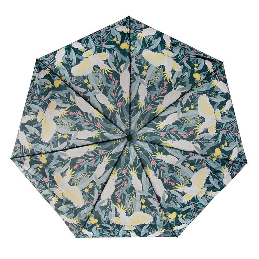 Aus Collection Foldable Umbrella - Cockatoo