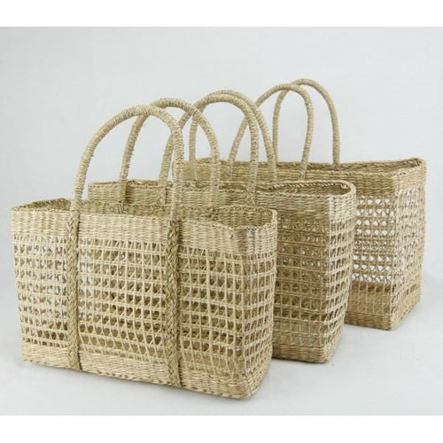 Seagrass Net Basket - large