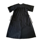 Dragstar House Party Dress - black 100% cotton Ethical womens fashion made in Sydney Australia