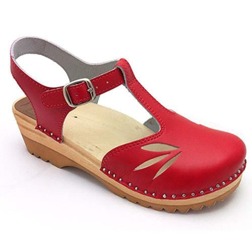 Troentorp 'Nelly' Clog - Red