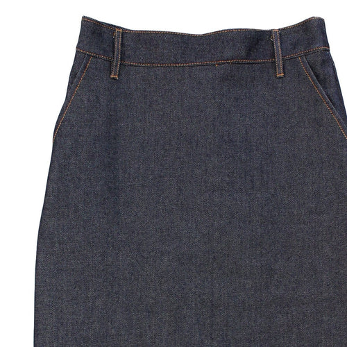 Pencil Skirt - Dark Denim